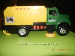 мусоровоз  пылеуборочная машина Tonka