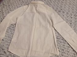 Белая рубашка с длинным рукавом h&m