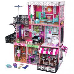 Дом для кукол KidKraft Brooklyn&acutes Loft Бруклинский лофт домик 65922