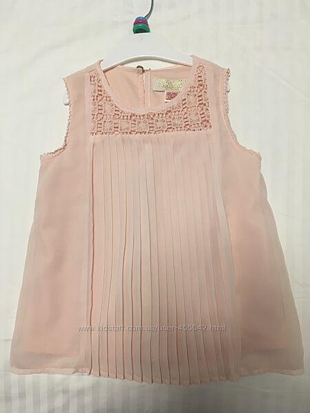 Блузка нарядная в школу 116-122 см