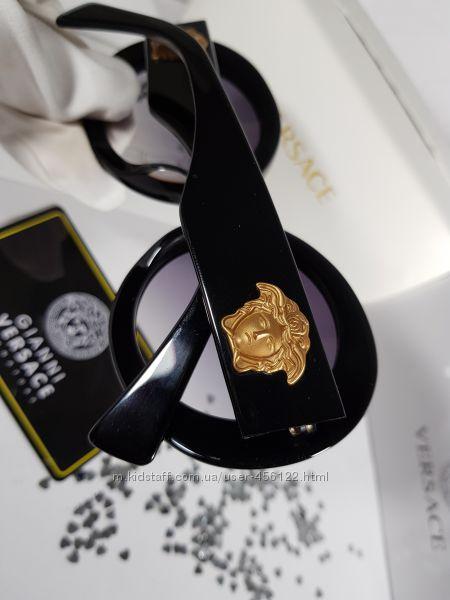 New коллекция- Очки Versace VE4298- дорогой минимализм. Комплект
