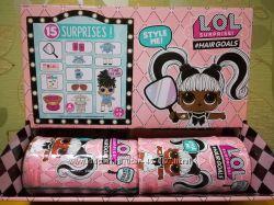 Кукла LOL Surprise Hairgoals 5 серия, Confetty pop ОРИГИНАЛ
