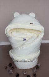 Конверт для новорожденного Молочный мишутка