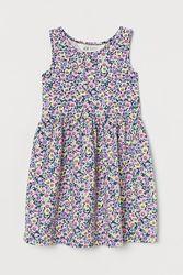 Летнее платье на девочку H&M