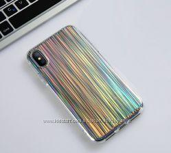 Чехол Laser Shine для Apple iPhone 7, 8, 7 Plus, 8 Plus, X, Xs
