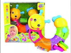 Развивающая игрушка Веселая гусеница Joy Toy