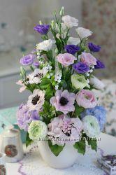 Обучение лепке цветов из глины в Днепре. Керамическая флористика
