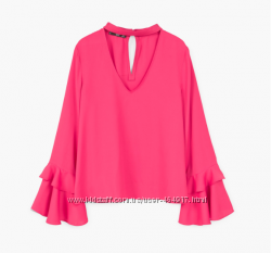 Cтильные блузки от испанского бренда Мango р. L, XL