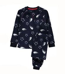 Теплые плюшевые пижамы George 4-5 лет