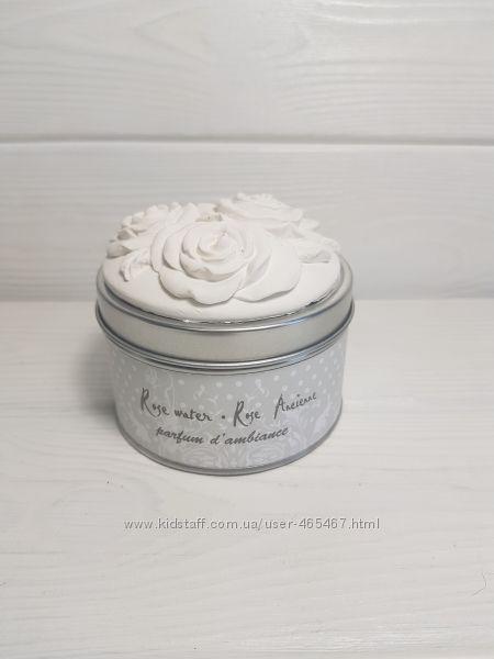 Свечи с ароматом розы