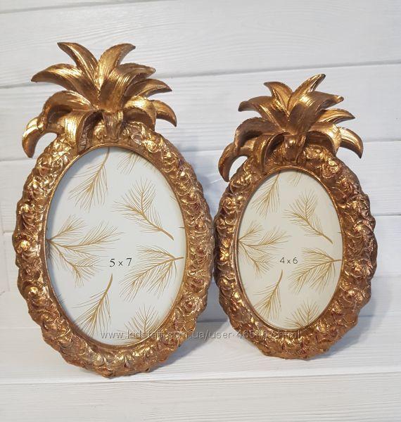 Фоторамки Золотые ананасы