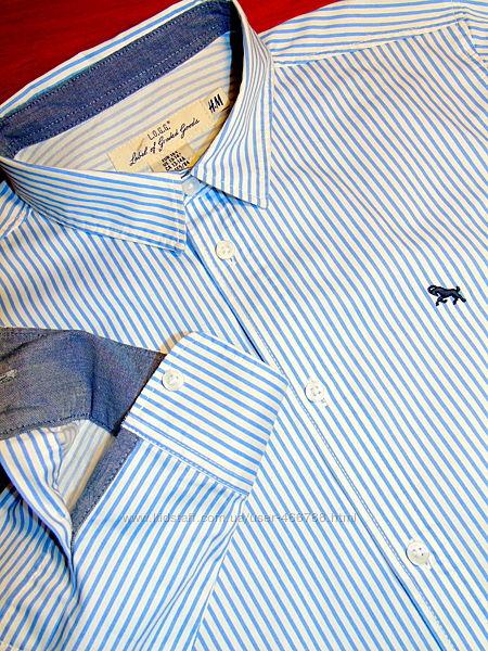 H & M  Шикарная  брендовая рубашка  на подростка - 12 - 14 лет