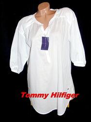 TOMMY HILFIGER Шикарная брендовая туника оверсайз с пышным рукавом - S - M