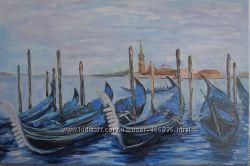 Картина Венеция. Вид на Сан-Джорджо Маджоре, холст, масло