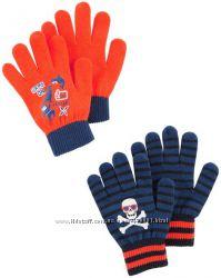 Перчатки, варежки Osh Kosh и Carters мальчикам