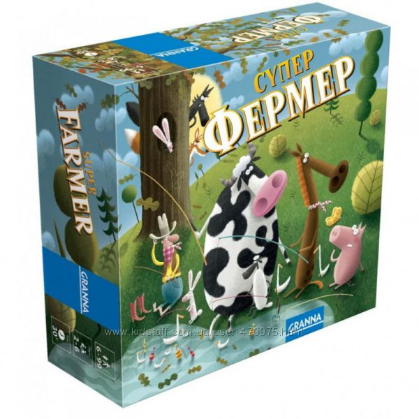 Настольная игра Супер Фермер, дорожный вариант, Granna 81862