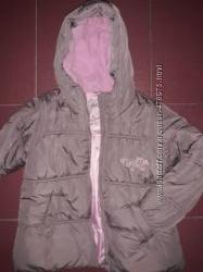 Теплая деми куртка NEXT 140 см идеальное состояние