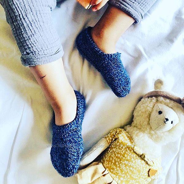 Следки носки вязаные детские