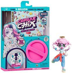 Игровой набор кукла сюрприз Capsule Chix Ctrl Alt Magic Капсул Чикс