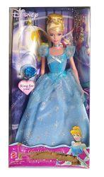 Кукла Золушка Cinderella Disney Sparkle Princess 2004 Mattel G7933