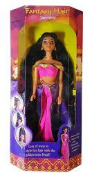 Коллекционная кукла Жасмин Jasmine Fantasy Hair Disney Aladdin 1994 Mattel
