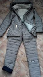 Зимний теплый костюм 42-44р