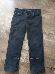 Джинсовые брюки на флисе