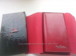 Кожаный тревел-портмоне Pierre Cardin, отличная вещь на подарок. Скидка