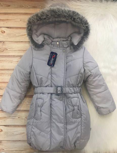 Зимняя удлиненная куртка MMDadak на флисе, р. 110, 116, 122