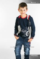 Польская жилетка с капюшоном для мальчика MMDadak, р. 98, 104