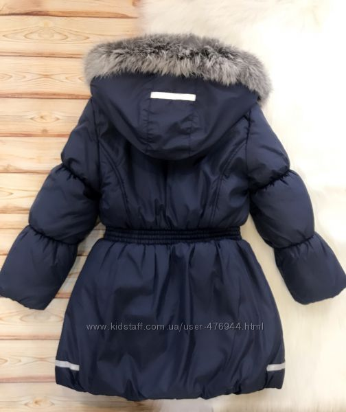 Зимняя удлиненная куртка MMDadak на флисе, р. 104, 110, 116, 122, 128, 134
