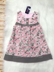 Польское вельветовое платье сарафан для девочки MMDadak, р. 98