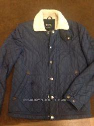 Куртка Ostin муж раз S-M теплая синяя