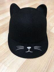 Шляпка кошка шерсть новая NEXT р. 54-56 см