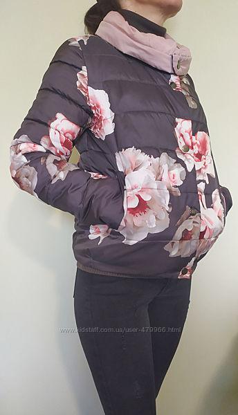 Куртка женская, плащевка  утеплитель