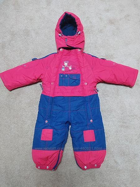 Зимний детский комбинезон 86