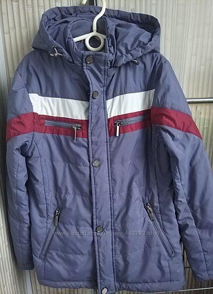 Детская куртка демисезон для мальчика р.134