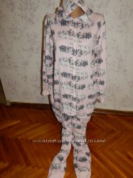 Love to lounge слип, пижама, человечек, кигурими с капюшоном р12