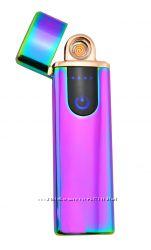 USB электрическая зажигалка Jinlun сенсорная импульсная запальничка K03