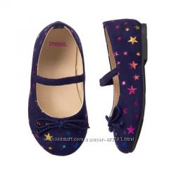 Красивые нарядные туфли балетки для модницы от Gymboree р. 31