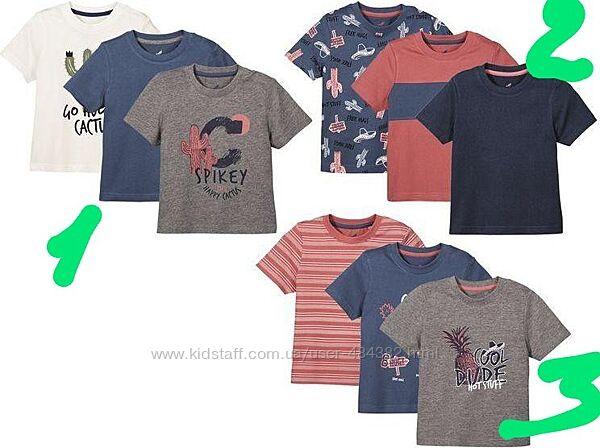 Разные детские футболки