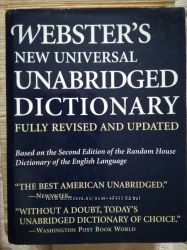 Webster&acutes new universal Unabridged dictionary