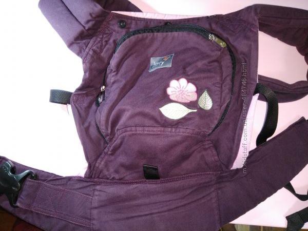 Классный кенгуру-рюкзак для ребенка двух видов