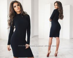 77b54ade82cc Теплое трикотажное женское платье на меху код 712, 390 грн. Женские ...