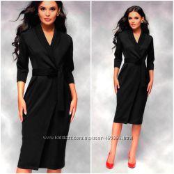 Черное платье-плащ Bella Код 400