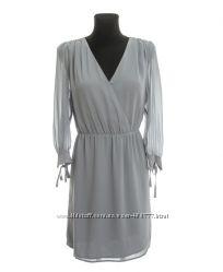 Платье H&M серого цвета 46-й европейский