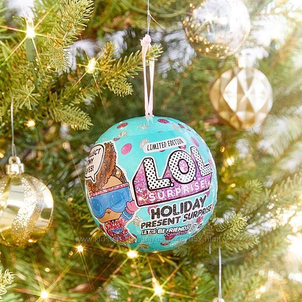 Lol surprise glitter globe Holiday disco winter Mga Лол.