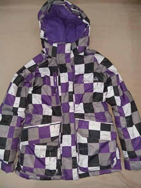 Продам в новом состоянии, фирменную Okey, теплющую, зимнюю термо куртку, 4-