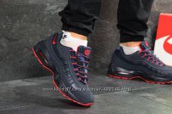 Зимние мужские кроссовки Nike 95 dark blue