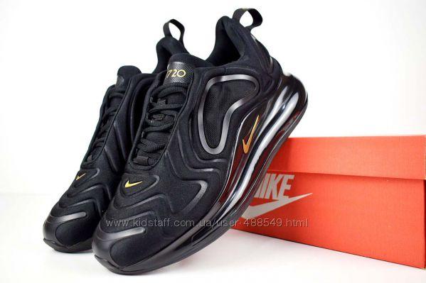 cde2739f Кроссовки мужские Nike Air Max 720 черные с золотом, 1300 грн. Мужские  кроссовки купить Одесса - Kidstaff | №23219908